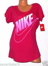 NIKE OVER SIZED FADE FUTURA T-SHIRT WOMEN'S PINK SIZE SMALL LOOSE