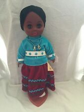 Native American Navaho Princess Doll By Carlson Dolls EUC