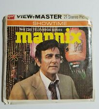1974 View-Master MANNIX T.V. Show BB450 - 3 Reel Set + Booklet