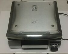 George Foreman Super Searing Grill Steak Indoor Electric Stainless Steel RARE!
