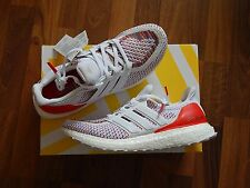 ADIDAS ULTRA BOOST WHITE RED MULTI COLOUR UK8 US8.5 BRAND NEW PRIMEKNIT