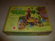 BOXED BARBIE GARDEN PATIO SET 1972 MATTEL PLAYSET NO 4284 VINTAGE