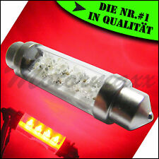 LED Soffitte,Sofitte 8 LEDs,43mm,44mm,45mm,46mm,Rot,Red,Ambiente,Beleuchtung,C5W