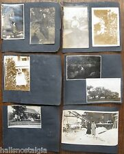 20 Photos 1905 horse buggy, men with medals, SS Belfast, Winterport Maine, etc.