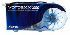 Akasa Vortexx Neo AK-VC03-BLUV VGA cooler for ATI and NVIDIA Graphics Cards NEW