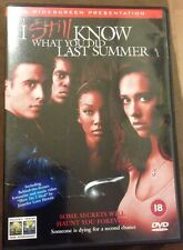 I Still Know What You Did Last Summer Dvd (DVD, 2008) In Very Good Condition
