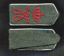 German Bavarian 6th or 92nd Regiment Straps WW1 piped