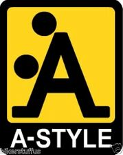 A-STYLE BUMPER STICKER HARD HAT STICKER TOOL BOX STICKER