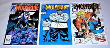 Wolverine 1 8 10 Lot 1988 Sabretooth Battle Incredible Hulk HIGH GRADE