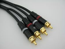G-A10 1m 3ft. Stereo Canare MR202 Hifi Quality amp/pre-amp RCA Audio Cable