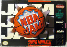 NBA Jam Super Nintendo, SNES, 1991 ULTRA RARE MADE IN JAPAN