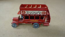 Matchbox No.2 B Type Bus 1912-1920 By Lesney Dewars General Gray Wheels Toy