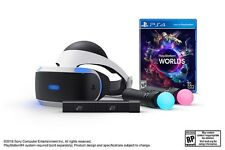NEW! SEALED! Playstation VR Launch Bundle Virtual Reality Headset PS4 PSVR