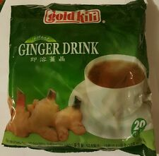 Gold Kili Natural Instant Ginger Tea Drink 20 Sachets