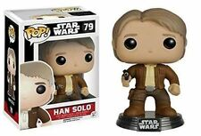 "STAR WARS THE FORCE AWAKENS OLD HAN-SOLO 3.75"" VINYL POP FIGURE BOBBLE-HEAD"