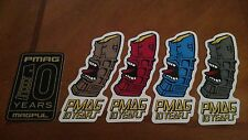 Magpul PMag 10 Years Vinyl Sticker Decal OEM Original ***LOT OF 5***