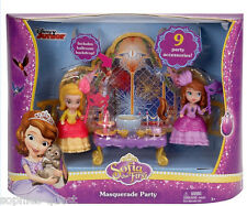 Sofia the First - The Royal MASQUERADE Ball Party - Sofia + Amber Doll *NEW*