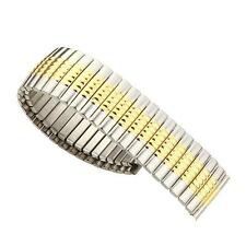 20mm Elastic Stainless Steel Watch Band