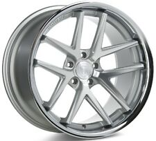 Rohana 19x8.5  RC9 5x114 +15 Machine Silver Rims (Set of 4)