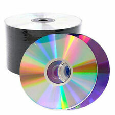 1000 PCS Silver Shiny Top 16X Blank DVD-R DVDR Disc Media 4.7GB (50*20)