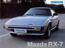 "1979 - MAZDA ""RX-7"" Coupé - Twin rotor engine - Belgian sales brochure, prospekt"