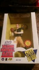 "BRETT FAVRE GREEN JERSEY NFL Best 10"" Talking Football Player 1996"