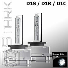 Pair - 6000K D1S D1R D1C HID Xenon Bulbs Replace Factory HID Headlights - B