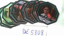 JETON carte collection STAR WARS LECLERC 2015 lot de 10 (gros choix)  (Dé 5808)
