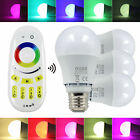 3x 6,5W RGBW LED E27 Lampe RGB+Warmweiß Bulb + Controller 4-Zonen dimmbar Light