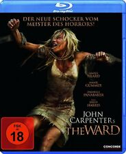 John Carpenter's THE WARD (Amber Heard, Jared Harris) Blu-ray Disc NEU+OVP