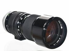 Vivitar Series 1 90-180mm f/4.5 Flat Field Macro Zoom Lens / Canon FD / NM!