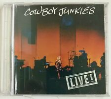 Cowboy Junkies Live! CD-Single Canada 1992