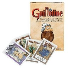 Guillotine Card Game - Get A Head! From Wizards Of The Coast