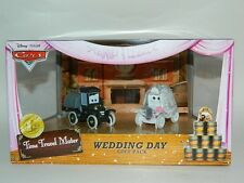Disney Pixar CARS Time Travel Mater Stanley & Lizzie Wedding Day Gift Pack