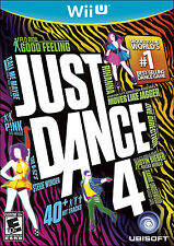 Just Dance 4  (Nintendo Wii U, 2012) NOT for original Wii!!!!