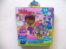 Disney Junior 3D Puzzle Pack 5 Puzzles 24 Pieces Each Mickey Minnie Goofy Daisy