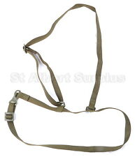 CANDIAN ARMY GAS MASK BAG CARRIER STRAP - SHOULDER / WAIST - NEW - 156NU