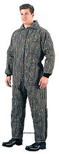 Military Insulated Smokey Branch Camo Coveralls Heavy Winter Overall Rothco 7035