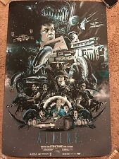 Vance Kelly Aliens James Cameron Sigourney Weaver Movie Art Print Poster Mondo
