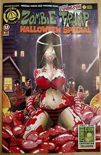 ZOMBIE TRAMP HALLOWEEN 2016 #1 exclusive NYCC COVER regular variant edition LTD