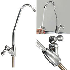 Chrome Finish 1/4 Reverse Osmosis Drinking Water Filter Kitchen Sink Faucet Tap