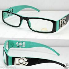New DG Clear Lens Frames Glasses Fashion Mens Womens Rectangular Black Green