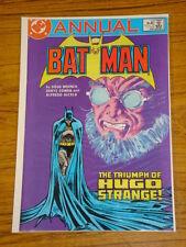 BATMAN ANNUAL #10 VOL1 DC COMICS DENYS COWAN ART 1986