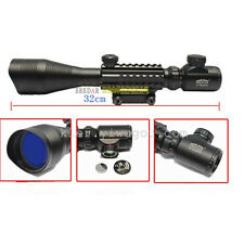 Pro 4-16X50EG R/G Optical Hunting Rifle Scope Laser Tactical Mil-dot Riflescopes