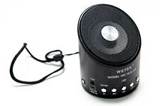 Mini Speaker Portatile Cassa WS-A9 FM Radio Lettore SD USB Jack 3,5mm hsb