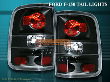 04 05 06 07 08 FORD F150 BLACK TAIL LIGHTS XL STYLESIDE