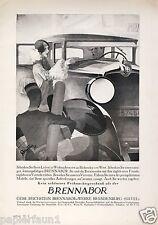 Brennabor Reklame Weihnachten 1928 Werbung Reichstein Brandenburg Havel car ad