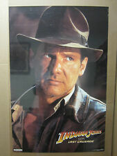 Vintage Indiana Jones and the last Crusade Harrison Ford poster 984