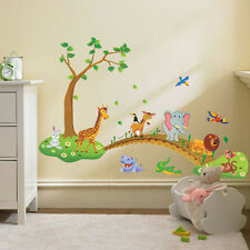 Animals Wall Decal Sticker Home Decor Vinyl Art Kids Baby Nursery Room Carton