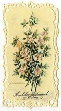 Zelluloid-Glückwunschkarte zur Verlobung von 1900